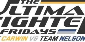 The Ultimate Fighter Fridays: Team Carwin vs. Team Nelson Elimination Fight Results