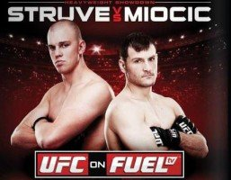 UFC on Fuel TV 5 Struve vs Miocic