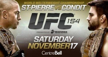 UFC 154: St-Pierre vs. Condit Bold Predictions
