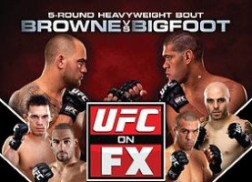UFC on FX 277x200 UFC on FX 5: Browne vs. Bigfoot Live Results & Analysis