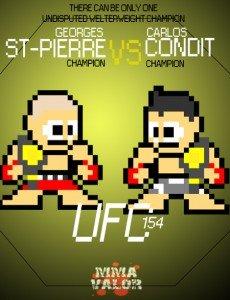 8-bit MMA Poster