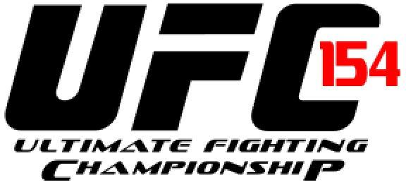 UFC 154 logo 8-bit