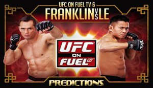 UFC on FUEL TV 6 Bold Predictions