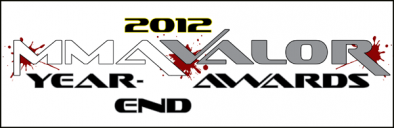 MMA Valor 2012 Year End Awards