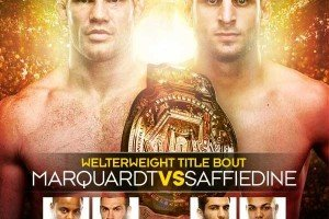 Strikeforce: Marquardt vs. Saffiedine Results