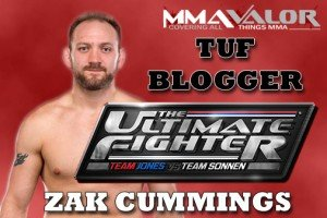 Zak Cummings Joins MMAValor as TUF 17 Blogger