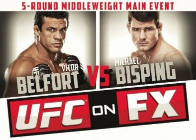 UFC on FX 7: Belfort vs. Bisping Bold Predictions