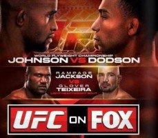 UFC on FOX 6: Johnson vs. Dodson Results