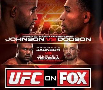 UFC on FOX 6: Johnson vs. Dodson Bold Predictions