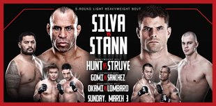 UFC on FUEL TV 8: Silva vs. Stann Live Results