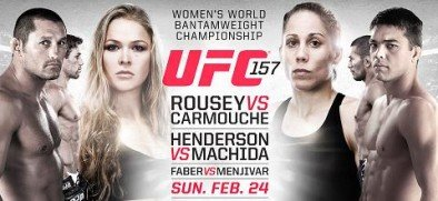 UFC 157: Rousey vs. Carmouche Live Results