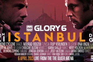 Watch Ghita vs. Saki at Glory 6 Istanbul Right Here