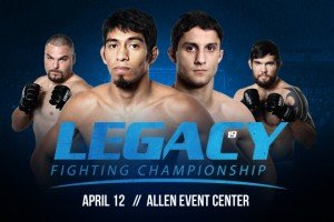 Legacy Fighting Championship 19 Results and Main Card Recap