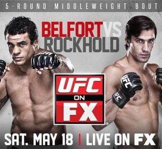 UFC on FX 8: Belfort vs. Rockhold Quick Results