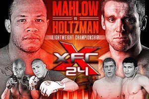 Scott Holtzman now Faces John Mahlow at XFC 24