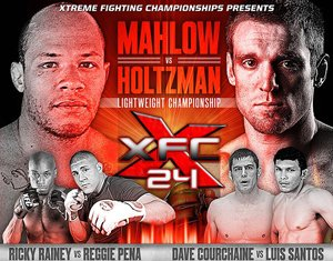 XFC 24 Scott Holtzman vs John Mahlow
