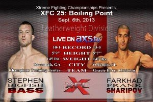Stephen Bass Finally Returns to the Cage on September 6th