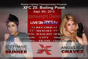 Featured Women's Atomweight bout added to XFC 25: Boiling Point