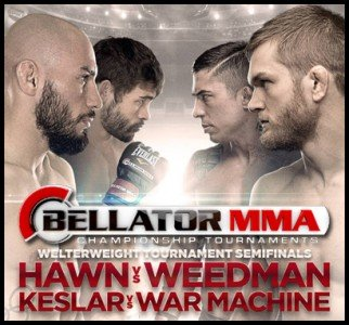 Bellator 104: Keslar and Hawn advance to Finals