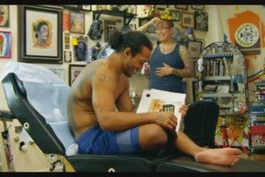 "Benson Henderson Featured in AOL Web Series ""My Ink"""