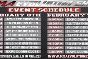MMA Valor Local Corner: WCS 14 and the MMA Evolution Expo