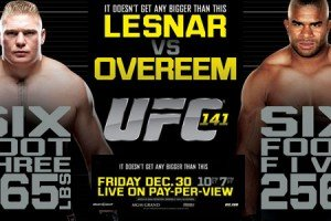UFC 141: Lesnar vs. Overeem Main Card Breakdown