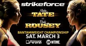 Strikeforce: Tate vs. Rousey Live Results