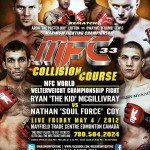 MFC 33: Collision Course Weigh-in Results