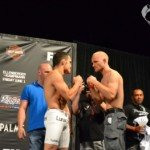 TUF Live Finale Weigh-in Results and Pictures