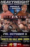 Heavyweight Tournament Equals Strange at Bellator 75