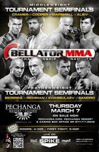 Bellator 92: Middleweight tournament final to be determined tonight