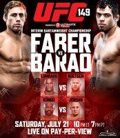 ufc 149 174x200 UFC 149: Faber vs. Barao Weigh in Results