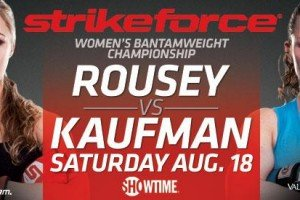 Strikeforce: Rousey vs. Kaufman Quick Results