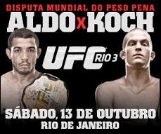 UFC 153: Aldo vs. Koch Card Complete & Ticket go on sale Thursday