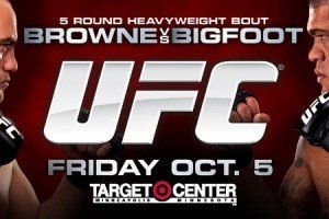 UFC on FX 5: Browne vs. Bigfoot Tickets on Sale this week
