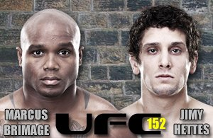 Brimage vs Hettes is the UFC 152 Preliminary Bout to See