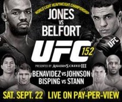UFC 152 Weigh-in Video and Results
