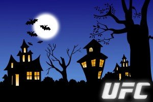Check out two UFC Posters that got into the Halloween Spirit