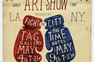 Art and Combat Sports Combine for Charity
