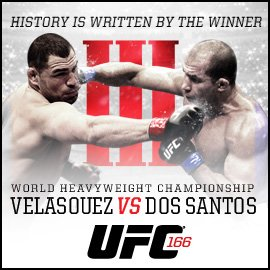 UFC 166: What an Amazing Night of Fights