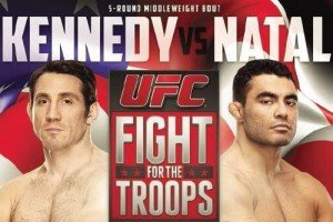 The Fight Report for the UFC's Fight for the Troops 3